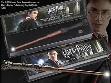 Official Harry Potter Light Up Tip Wand Noble Collection Gift Prop Magic Wave