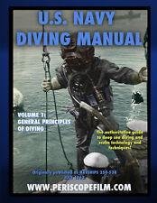 U.S. Navy Diving Manual Volume 1 General Principles of Diving