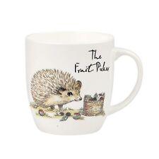 Churchill Country Pursuits Fruit Picker Hedgehog Bone China Mug