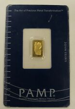 PAMP Suisse Lady Fortuna 1g Fine Gold