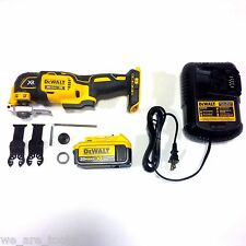 Dewalt DCS355 20V Oscillating Multi-Tool, 1) DCB204 4.0 Battery, Charger 20 volt