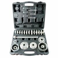 31pcs Front Wheel Drive Hub Bearing Puller Installation Removal Adapter Tool Set