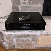 Working Sony CDP-CE500 USB Recorder 5-Disc CD Changer Player + Remote
