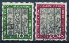 Ungeprüfte Briefmarken aus der BRD (ab 1948) mit Architektur-Motiv als Satz