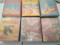 Harry Potter Audio Cassettes Read By Stephen Fry