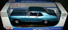 1970 CHEVY NOVA SS 396 1:18 SCALE DIECAST METAL SPECIAL EDITION by MAISTO NEW