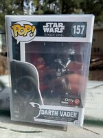 FUNKO POP! Darth Vader Rogue One Force Choke New GameStop Vaulted Protector