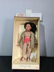 Zapf Creation Designer Collection Bindhi Doll - Bettina Feigenspan. Very Rare.