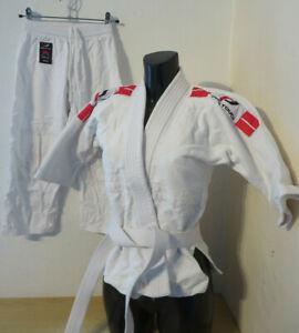 PRO TOUCH Keiko  Kinder Kampfsport-Anzug DJB Gr 120 Jacke Hose Gürtel Sport Judo