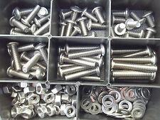 180 parti assortimento in Acciaio Inossidabile Set ISO 7380 BOX m3 v2a