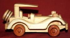 Hand Made Wood Retro Toy Car