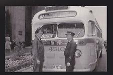 Los Angeles Motor Coach C0 Bus Operators comparing Uniforms Pacific Electric