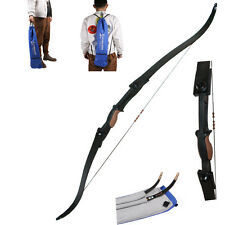 Takedown Recurve Bow Left Right Hand Double Arrow Rest Hunting Archery Shooting