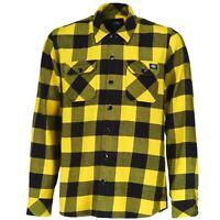 Dickies - Sacramento 05-200142 Yellow (YL) Holzfäller Kariert Hemden Gelb Herren