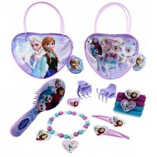 Disney Frozen Anna, Elsa and Olaf Girls Beauty Set Bag