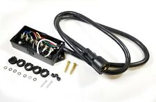 7 Way Plug Inline Pre-Wired Trailer Cord Junction Box 6 Ft Wiring Cable Towing