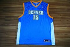 NBA DENVER NUGGETS BASKETBALL NBA SHIRT JERSEY REEBOK #15 ANTHONY SIZE XL ADULT