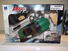 Boite neuve New Ray Auto Model Kit Jaguar 98 XK8 Verte