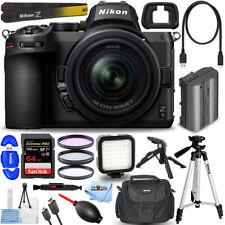 Nikon Z 5 Mirrorless Digital Camera with 24-50mm Lens + 64GB + LED Light Bundle