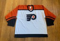 Philadelphia Flyers Vintage 90's Stitched Air-Knit CCM Jersey Mens XL NHL Maska