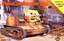 Tanque De Tkd Buster Pistola de W/47mm (ejército polaco MKGS 1939) edición limitada de 1/35 Rpm TKS