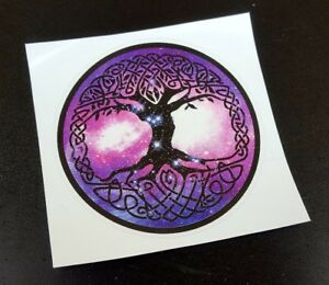Precut Viking Yggdrasil Tree of Life Sticker / Decal, Norse, Pagan, Celtic Wicca