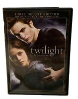 Twilight (DVD, 2009, 3-Disc Set, Bilingual Deluxe Edition)