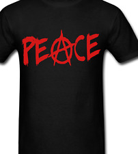 06f05ff89 Peace Anarchy T Shirt tee or long sleeve or Hoodie or tank top anarchist