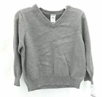 Carter's Toddler Boys Gray Long Sleeve Pull Over Sweater Casual Winter Size 2T