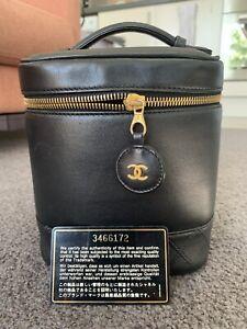 Chanel Vintage Lambskin Vanity Case