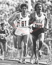 """Steve Prefontaine Poster """"Run like you're running for your life""""/16x20 inch"""