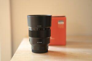 Sony FE85mm F1.8 lens