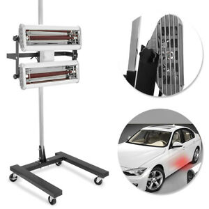 Infrared Paint Drying Curing Lamp+Stand Drying Light Heater Car Bodywork 220V
