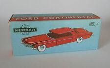 Repro Box Mercury Art.4 Ford Continental
