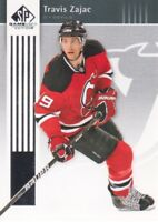2011-12 SP Game Used Hockey #57 Travis Zajac New Jersey Devils