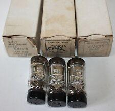 Lot de 3 vintage CV4015/EF92 Vannes/Tubes à Vide