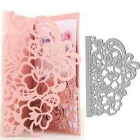 Rose Blume Metall Stanzformen Schablone DIY Scrapbooking Papier Karte Craft Deco