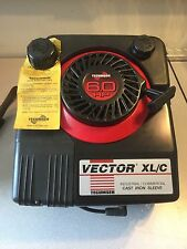 ONE (1) NEW Tecumseh Vector XL/C 6HP Engine Electric/Recoil start VLV126 502092F