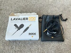 Rode Lavalier GO Professional-Grade Wearable Microphone
