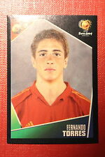 Panini EURO 2004 N. 88 ESPANA TORRES  NEW With BLACK BACK TOPMINT!!