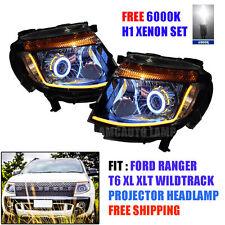 H1 Xenon Head Light Lamp Led Projector For Ford Ranger Ute T6 2012 13 14 15 Pick