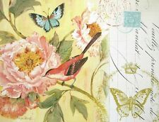 Kathryn White: Notes of a Peony Fertig-Bild 30x40 Wandbild Blumen Rose Landhaus