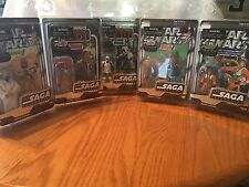 New Star Wars The Saga Collection Vintage A Lot Of All 5 Figures