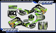 Kawasaki KX-65 00-17  KLX-110 00-09 Splitfire Graphics Kit