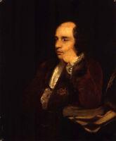 Oil painting Joshua Reynolds - Male portrait George Colman the Elder on canvas