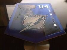 TAMPA BAY LIGHTNING STANLEY CUP BANNER Molson Coors Budweiser Panini Rare Promo
