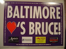 RARE PROMOTIONAL BRUCE SPRINGSTEEN SIGN 11/30/09 BALTIMORE not tickets