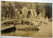 PHOTO - Parc - Cascades de Saint Cloud - PARIS - Vers 1880. Tirage albuminé