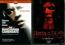 The Manchurian Candidate & House Of The Dead - 2 DVDs