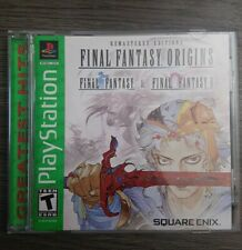 Final Fantasy Origins (Sony PlayStation 1, 2003) PSOne PSX